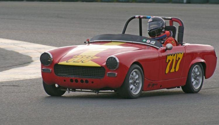 Philip Staley's 1962 AH Sprite Mk. 2.