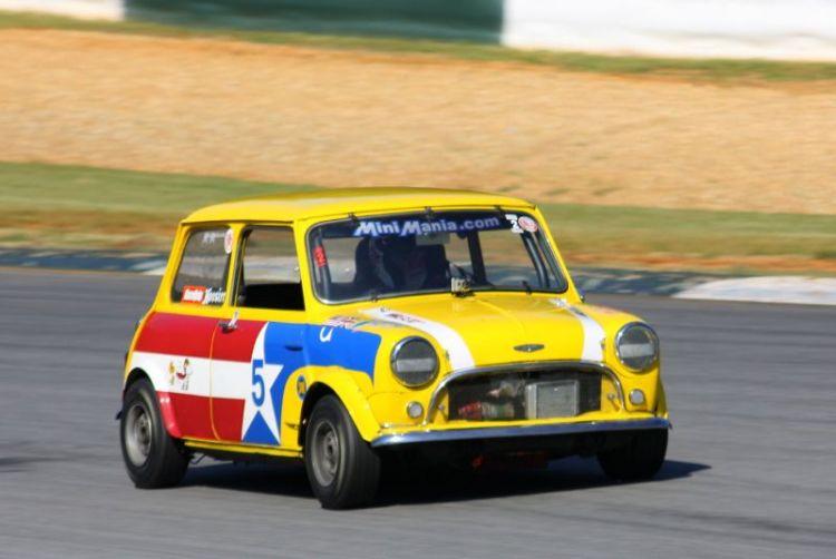 Philip Wicks, 67 Austin Mini Cooper