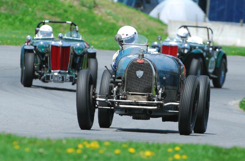 1931 Bugatti of Sandy Leith.