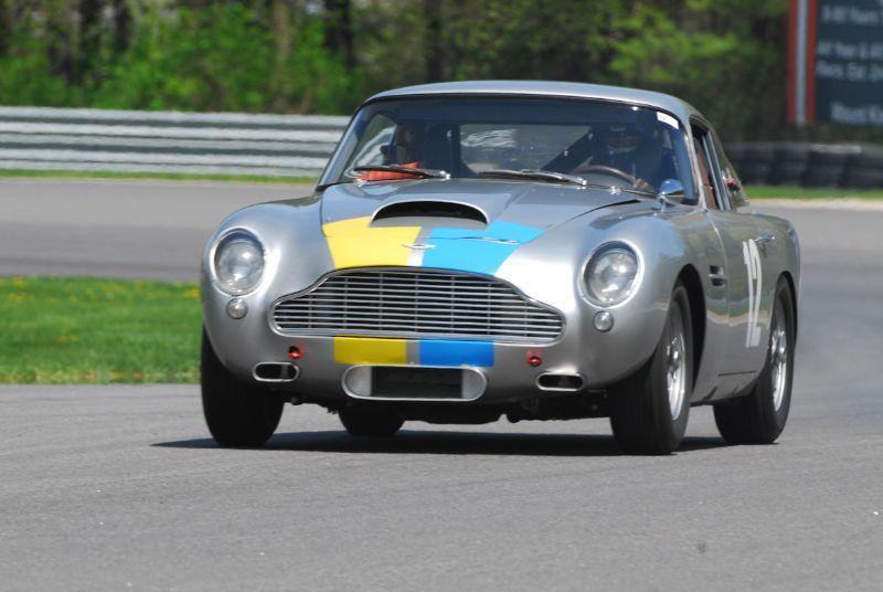 Jack Boxstrom, 1960 Aston Martin DB4 GT.