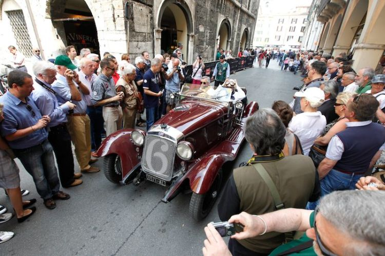 1930 OM 665 SS MM at Mille Miglia 2011