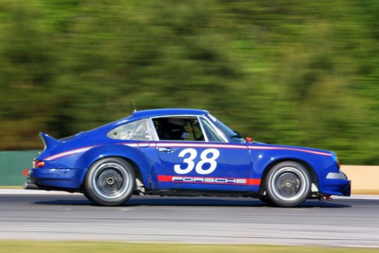 Michael Eberhardt, 72 Porsche 911 RSR