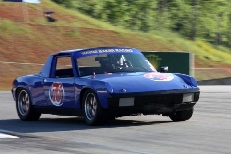 George Braithwaite, 70 Porsche 914