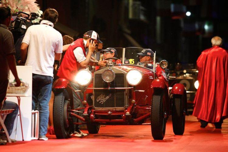 1928 Alfa Romeo 6C 1500 MMS at Mille Miglia 2011