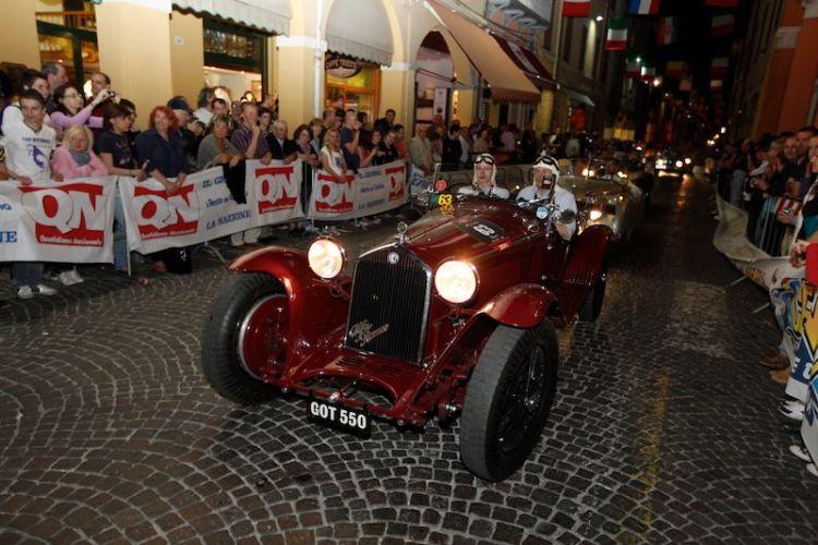 1932 Alfa Romeo 8C 2300 MM at Mille Miglia 2011