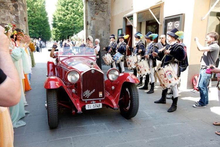 1932 Alfa Romeo 6C 1750 Gran Sport at Mille Miglia 2011