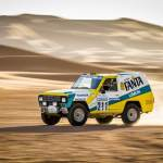 Nissan Paris-Dakar Winner Rides Again