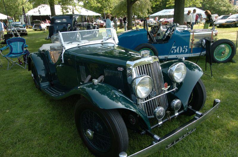1938 Aston Martin 15/98 2/4 Short Chassis. Richard R. Dillenbeck