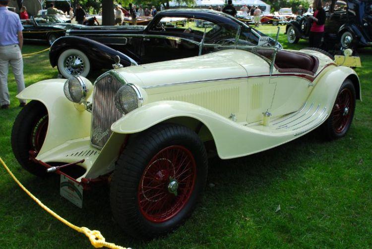 1933 Alfa Romeo 8C2300 Corto Spyder, Scuderia N.E.