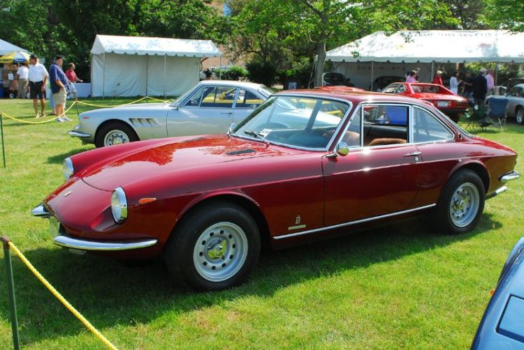 1969 Ferrari 365 GTC. Josh Lewis.