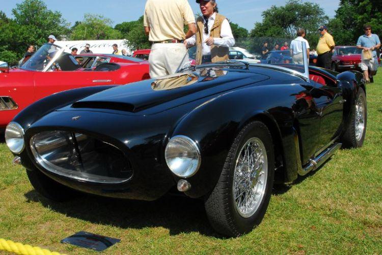 1955 Moretti 1200 Spyder. George Dragone.