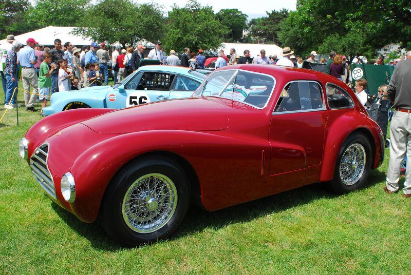 1946 Alfa Romeo 6C2500 Competizone. Herbert Wolfe.