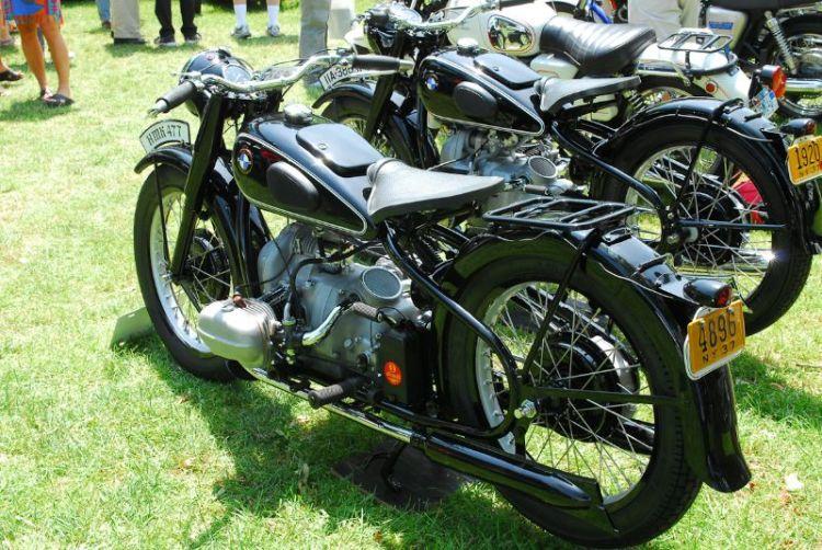 1937 BMW R5. Philip Richter.  1937 BMW R6.  John Pavone.