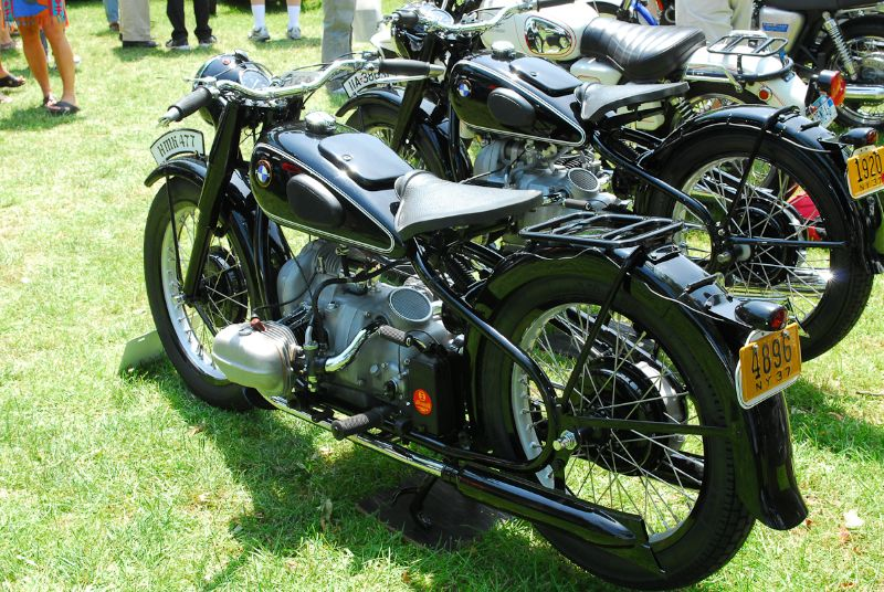 1937 BMW R5. Philip Richter.  1937 BMW R6.  John Pavone.