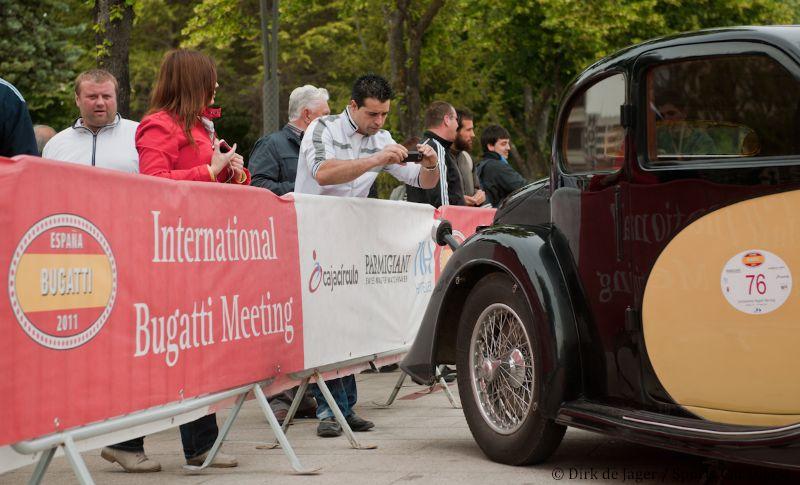 Scrutineering in Burgos