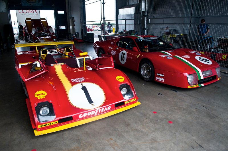 Ferrari 312PB and Ferrari 512 BB LM