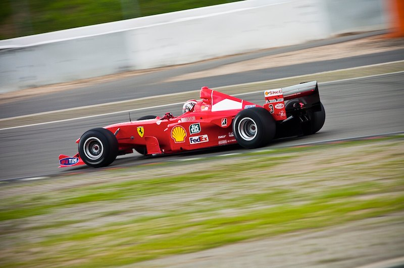 Modern Ferrari F1