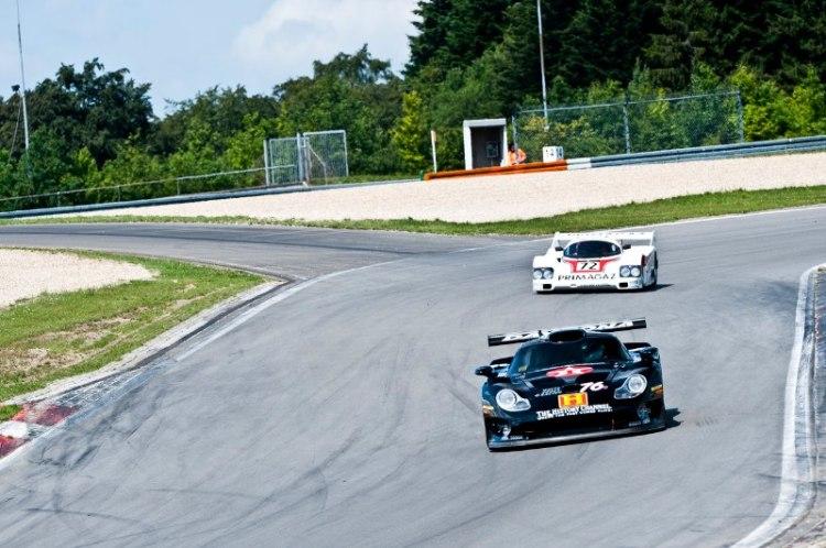 Porsche 911 GT1 and Porsche 962