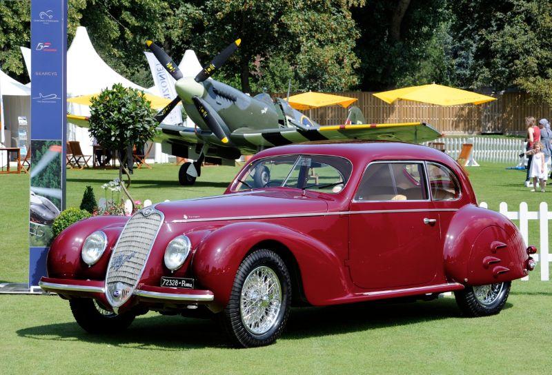 1939 Alfa Romeo 6c 2500 S Berlinetta