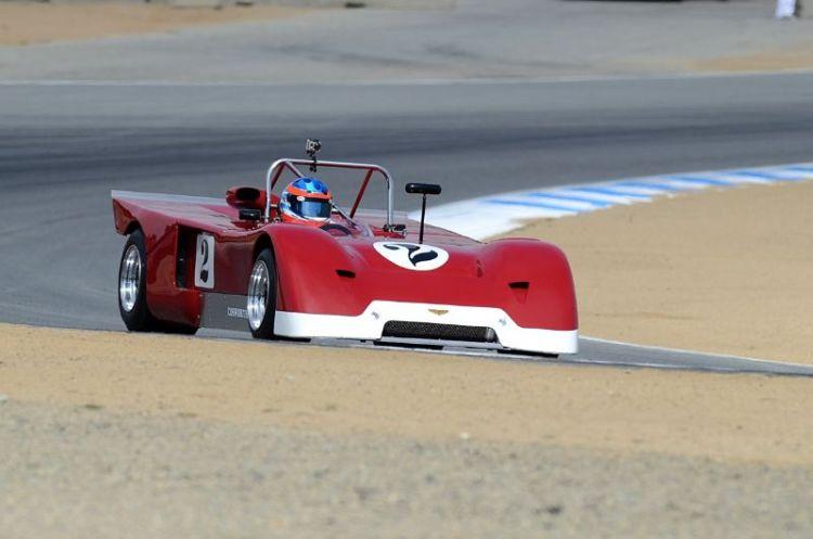 1971 Chevron B19 driven by Jonathan Feiber.