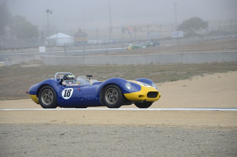 Tom Malloy, Lister 'Knobbly' Jaguar out of five.