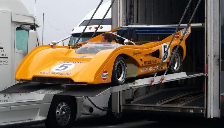 Cris MacAllister's McLaren M8F.