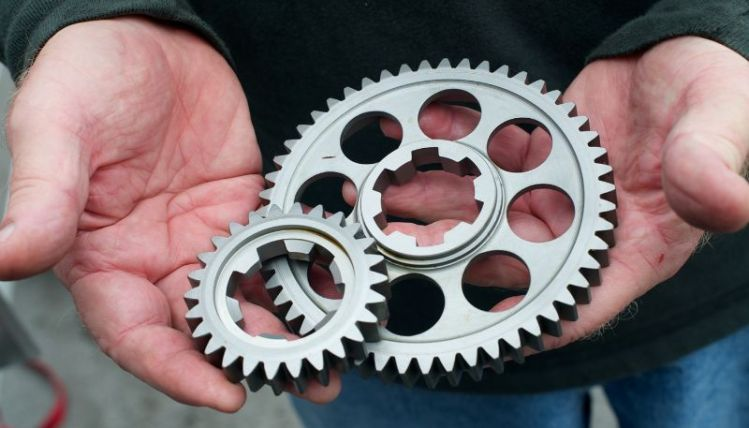 Second gear set for the 1500cc Lotus 18 F-1.