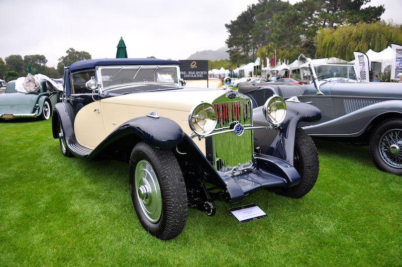 1932 Delage D8S 100, Arturo Keller