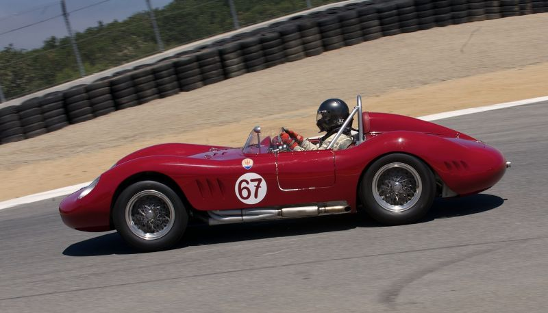 Maserati 200SI driven by Ned Spieker.