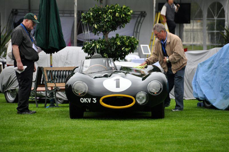 1954 Jaguar D-Type, Mallya Collection