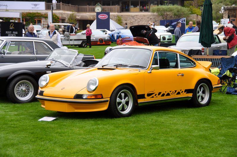 1973 Porsche 911 RS, Jonathan Segal