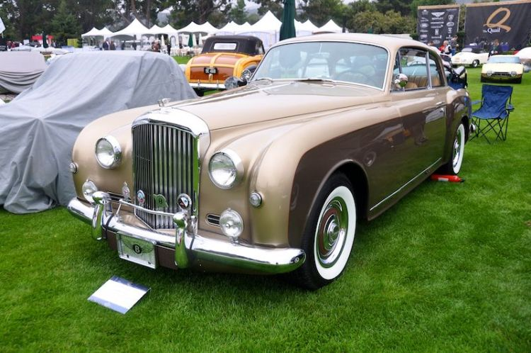 1958 Bentley Continental S Park Ward Sports Saloon, Robert Matteucci