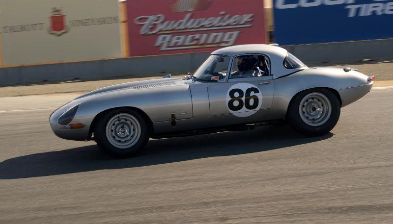 1963 Jaguar E-Type Lightweight, Greg Whitten.
