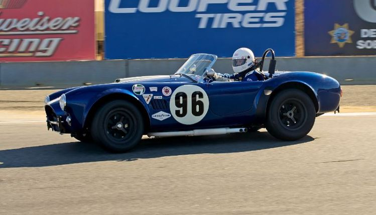 James Farley in his 1965 289 Cobra.