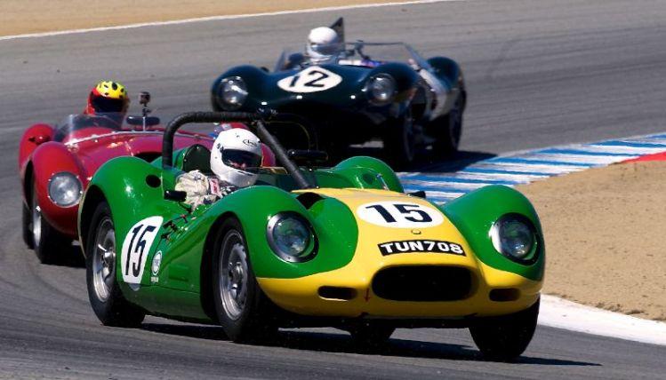 Brent Backman's 1957 Lister Jaguar Knobbly