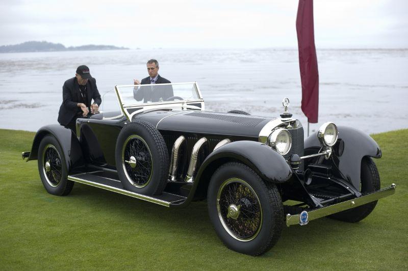 1928 Mercedes-Benz S Murphy Speedster, John Rich