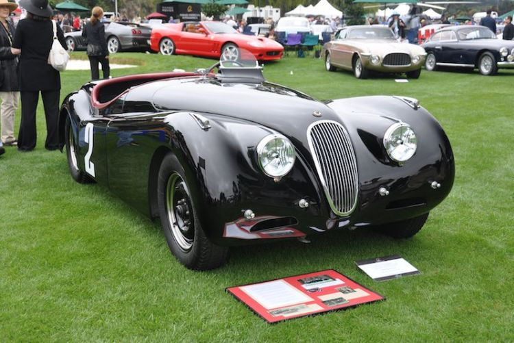Ex-Phil Hill 1950 Jaguar XK120 Alloy, Mark Miller