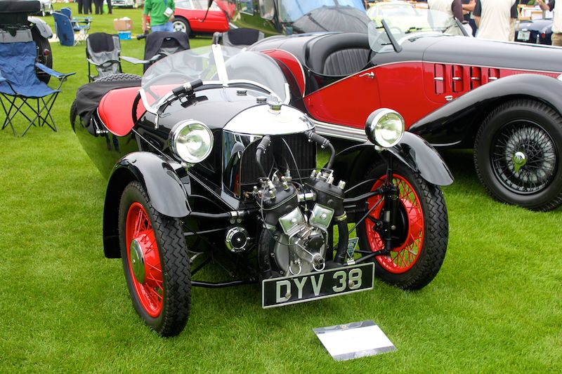 1937 Morgan Sports, Brian Pollock