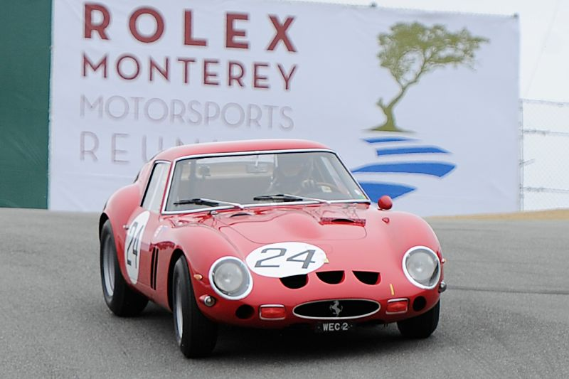 Ferrari 250 GTO Race - Monterey Motorsports Reunion 2011