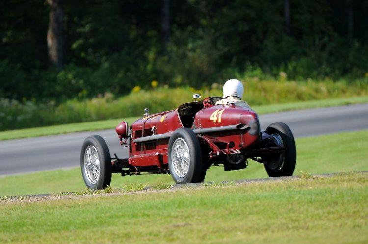 1935 Alfa Romeo Monza, Peter Greenfield.