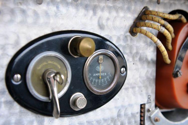 Bugatti TYpe 35B- Dash Detail.