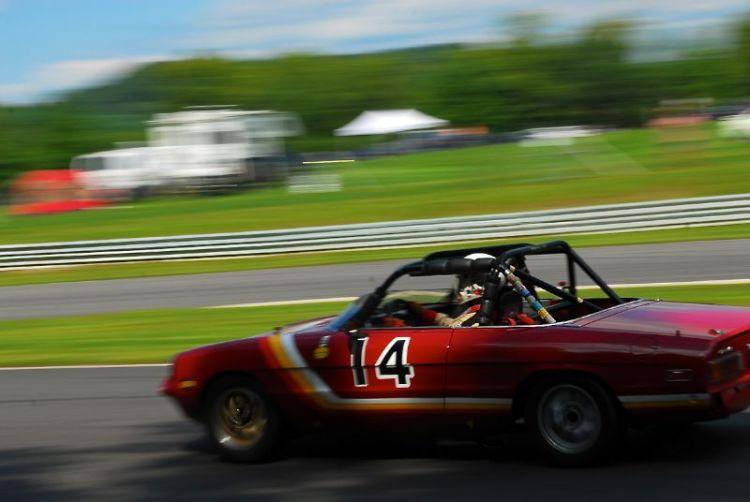 1973 Alfa Romeo Spyder, Michael Lawton.