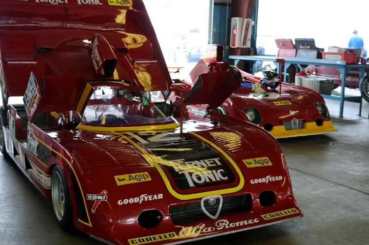 1971 Alfa Romeo- T33 and the Alfa T33/2.