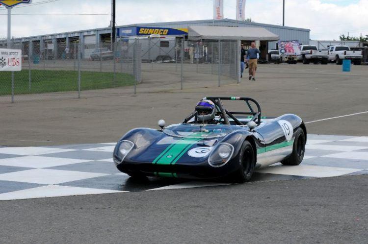 1966 Crossle 9S- Bruce Parker.