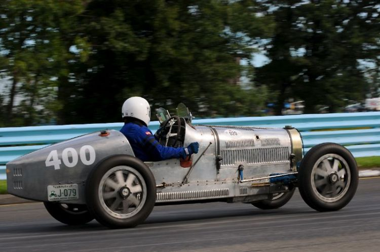 George Davidson- 1930 Type 35B Bugatti.
