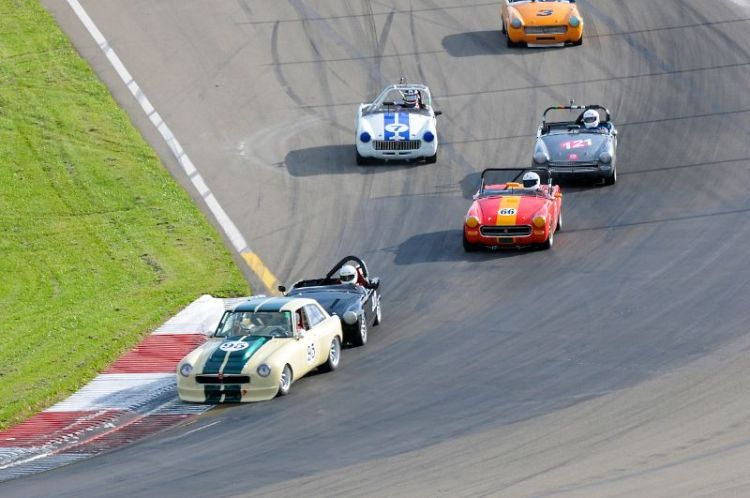 Turn 1- Collier Cup Race for MG's.