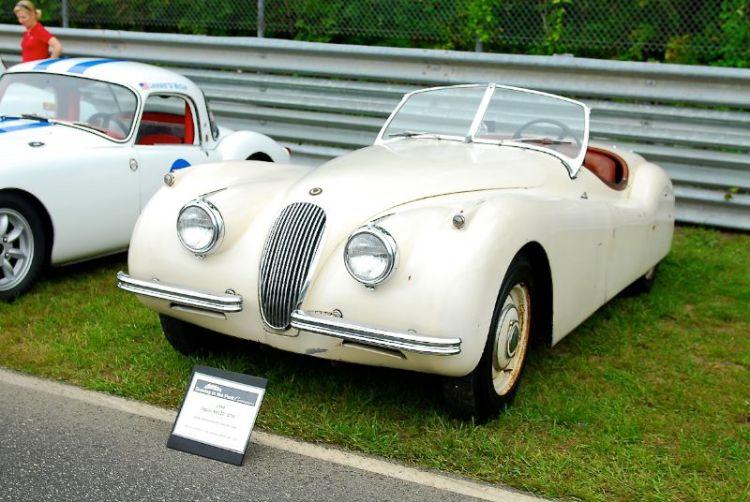 """1954 Jaguar XK120 """"OTS"""""""