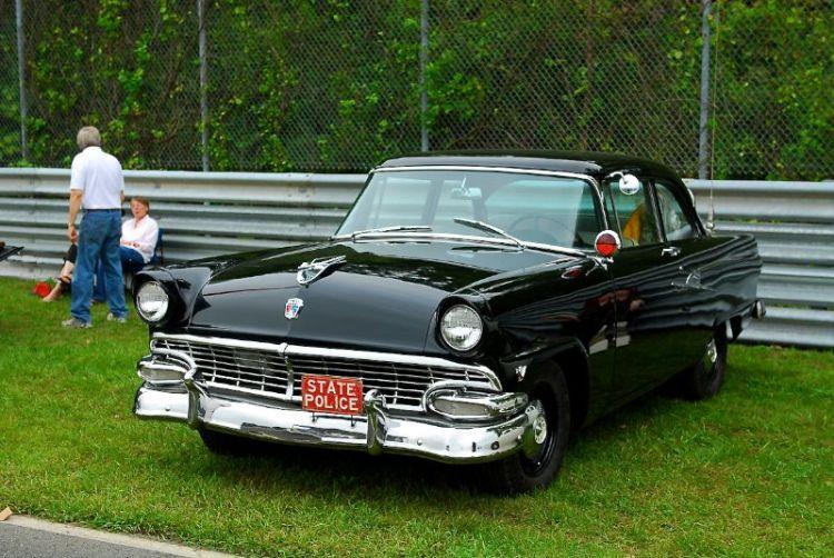 50's era Fors State Police Cruiser
