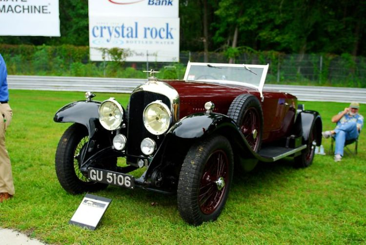 1929 Bentley. Robert Thomas.