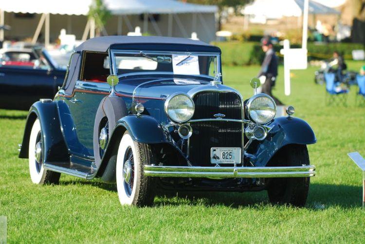 1932 Lincoln KB- Raymond Theriault.